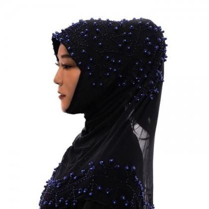 Blue Pearl Hijab